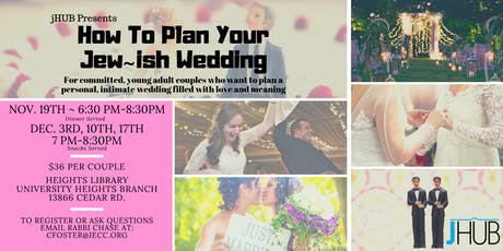 How to Plan Your Jew~ish Wedding tickets