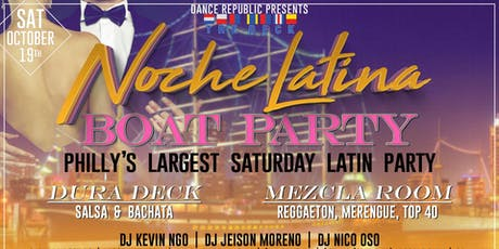 Noche Latina Boat Party tickets