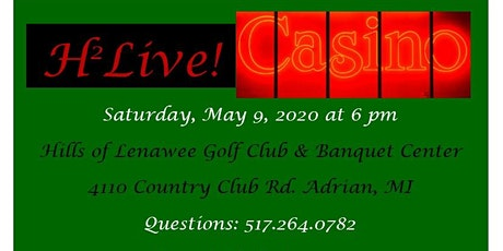 H2Live! Casino 2020 tickets