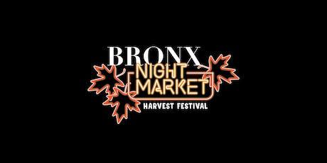 Bronx Night Market's Harvest Festival tickets