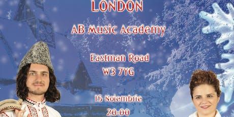 Concert Colinde Arta Duo London tickets