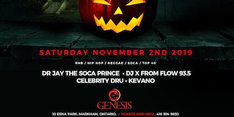 Halloween Party - Sat. Nov. 2nd with Dr Jay - tickets