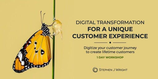 "1-day ""Digitize Your Customer Journey"" Workshop"