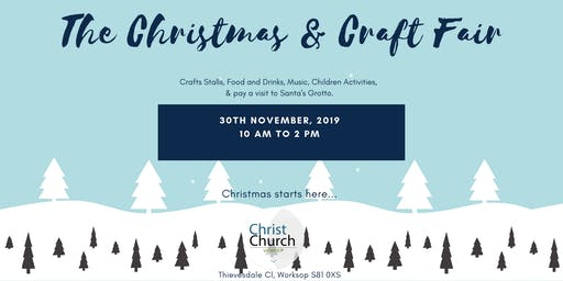 The Christmas & Craft Fair - Vendor Bookings