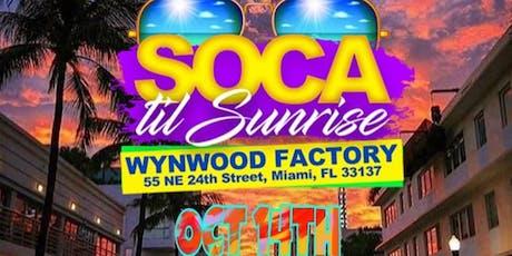 SOCA TIL SUNRISE tickets