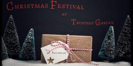 Christmas Festival at Trustees' Garden