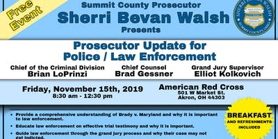 Prosecutor Update for Police / Law Enforcement