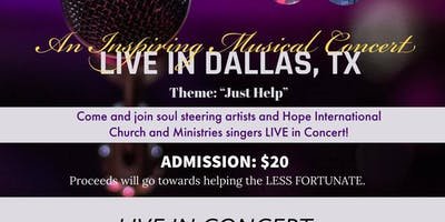 Just Help- Inspiring Gospel Musical Concert