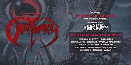 OBITUARY - Melbourne tickets