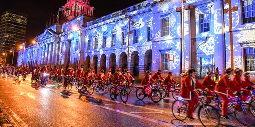 Dublin Santa Cycle 2019