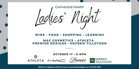 Connected Health Ladies' Night tickets
