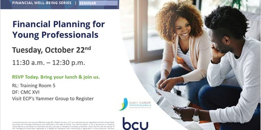 ECP and BCU Presents: Q3 Financial Planning for Young Professionals