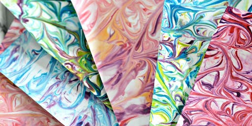 Keep Crafting - Marbling