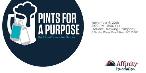 Pints for a Purpose at Defiant Brewing Company