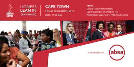 Lioness Lean In ENTERPRISE Event, Cape Town tickets