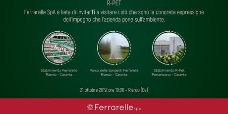 Open Day Ferrarelle tickets