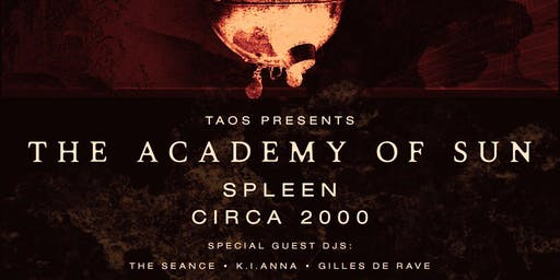 The Academy of Sun  & Special Guests Live and Electronic.