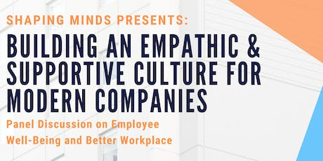 Building an Empathic & Supportive Culture for Modern Companies tickets