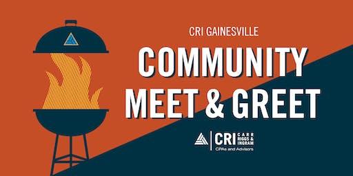 [GAINESVILLE, FL] Community Meet & Greet