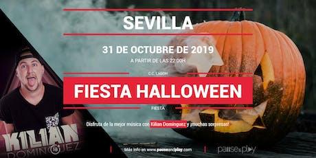 Fiesta Halloween con Kilian Dominguez en Pause&Play Lagoh entradas