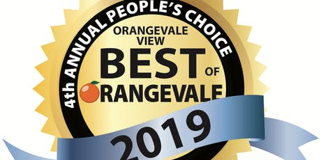 BEST OF ORANGEVALE 2019 AWARD BANQUET tickets