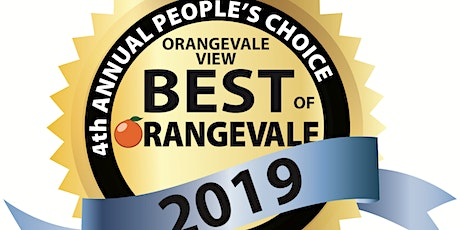 BEST OF ORANGEVALE 2019 AWARD BANQUET tickets
