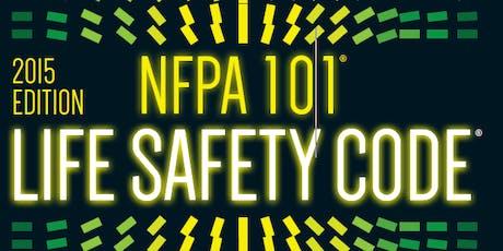 NFPA 101 (2015 Ed.) Workshop tickets