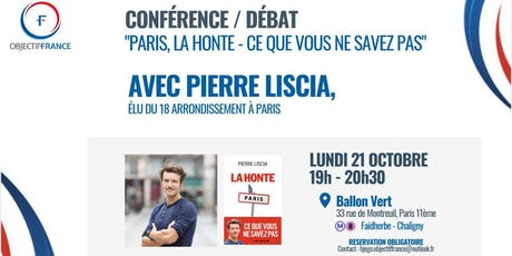 Rencontre avec Pierre Liscia billets