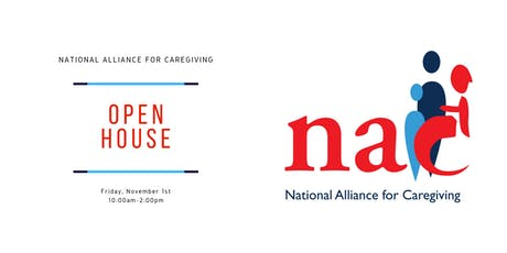 The National Alliance for Caregiving Open House tickets