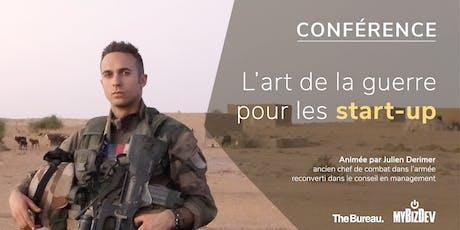 Conférence - L'art de la guerre pour les start-up tickets