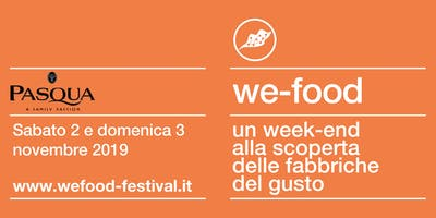 We-Food 2019 @ Pasqua Vigneti e Cantine
