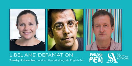Libel and defamation (with English PEN) tickets