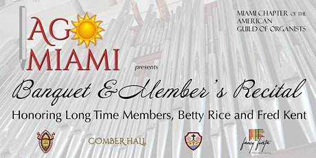 AGO Miami Banquet & Member's Recital tickets