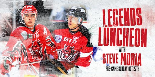 Devils Pre-Game Luncheon with Steve Moria