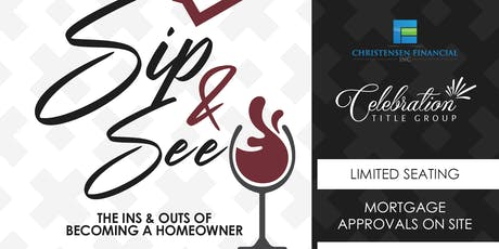 Sip & See - Homebuyer Seminar tickets