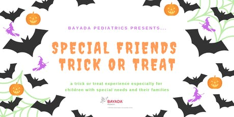 Special Friends Trick or Treat tickets
