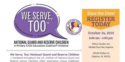 We Serve, Too: National Guard and Reserve Children