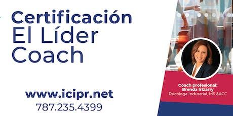 """Especialidad en Liderazgo """"El Líder Coach"""" tickets"""