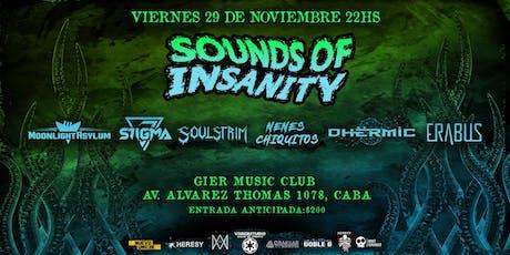 Sounds Of Insanity II entradas