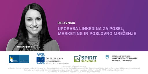 Uporaba LinkedIna za posel, marketing in poslovno mreženje