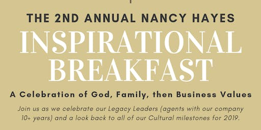 2nd Annual Inspirational Breakfast
