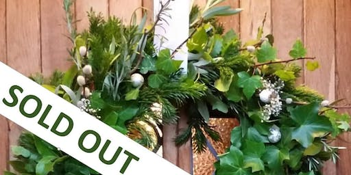 Gardening Lady Christmas Wreath Making Workshop 4