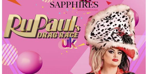 RuPaul's Drag Race UK - Baga Chipz MBE - LIVE ON STAGE