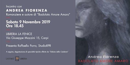 Incontro con l'autore Andrea Fiorenza