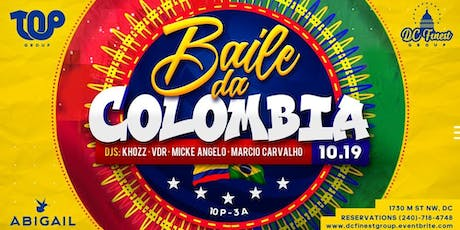 Baile da Colombia (VIP TABLES FOR 6 & 10 PEOPLE ) tickets