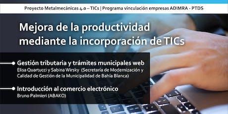Mejora de la Productividad Mediante la Incorporación de TICs entradas