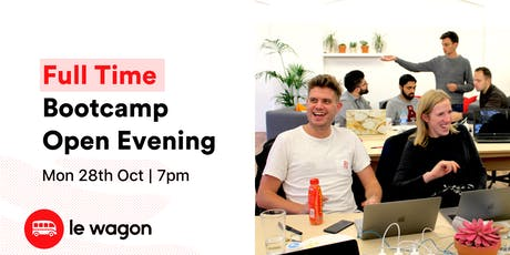 Le Wagon Full Time Bootcamp - Open Evening tickets