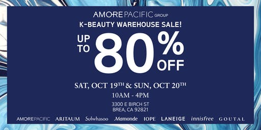 K-Beauty Warehouse Sale!
