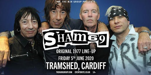 Sham 69 - The Original Line Up (Tramshed, Cardiff)