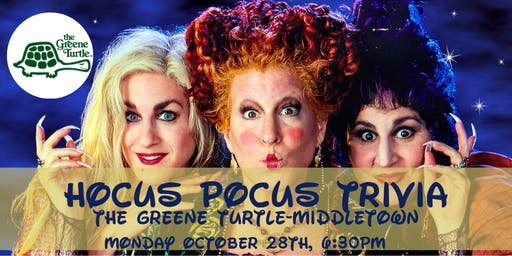 Hocus Pocus Trivia at The Greene Turtle Middletown